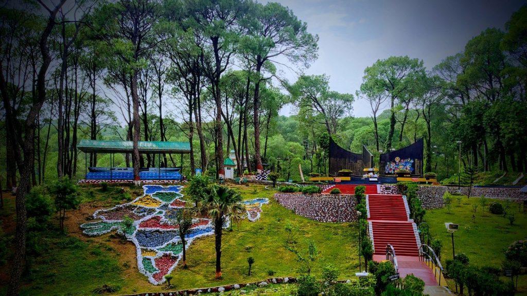 War Memorial. Dharamshala
